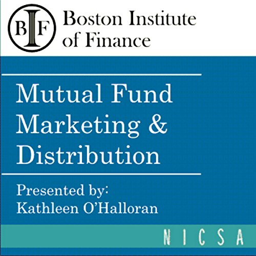 Mutual Fund Marketing & Distribution cover art