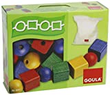 Goula 50247 Wooden Toy Balls and Cubes
