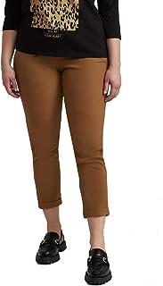 Fiorella Rubino : Pantaloni Carrot in Tessuto Tecnico Donna (Plus Size)