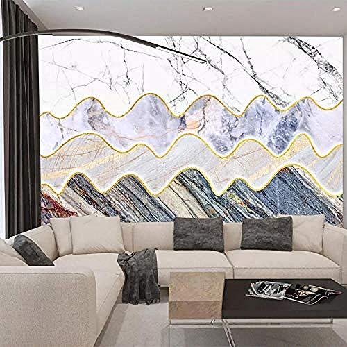 Alfombra de costura de cuero_Geometric Sala de estar Sofá Cojín de mesa de centro Alfombra de costur Pared Pintado Papel tapiz 3D Decoración dormitorio Fotomural sala sofá pared mural-430cm×300cm