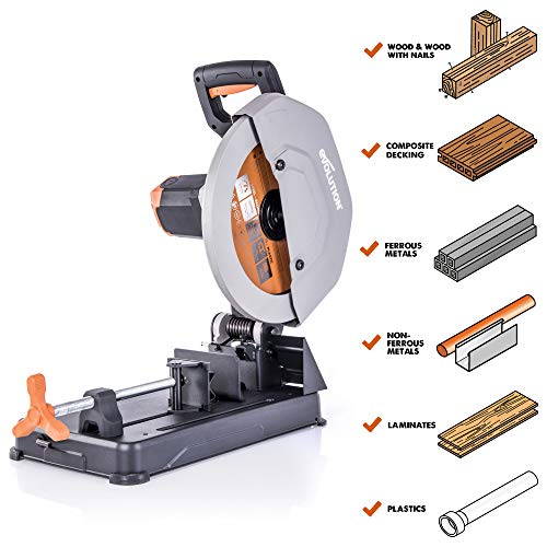 Evolution Power Tools R355CPS 14 inch Chop Saw