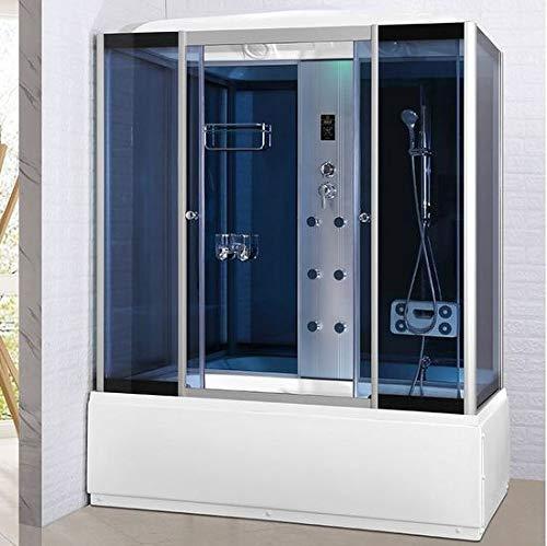 Cabina de hidromasaje para cabina de ducha y bañera, 6 chorros ...