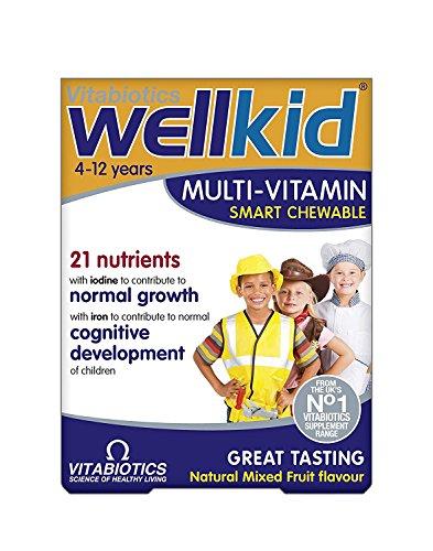 Wellkid Smart Chewable 30 Tabs by Vitabiotics
