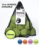 Gamma Bag of Pressureless Tennis Balls - Sturdy & Reuseable Mesh Bag with Drawstring...