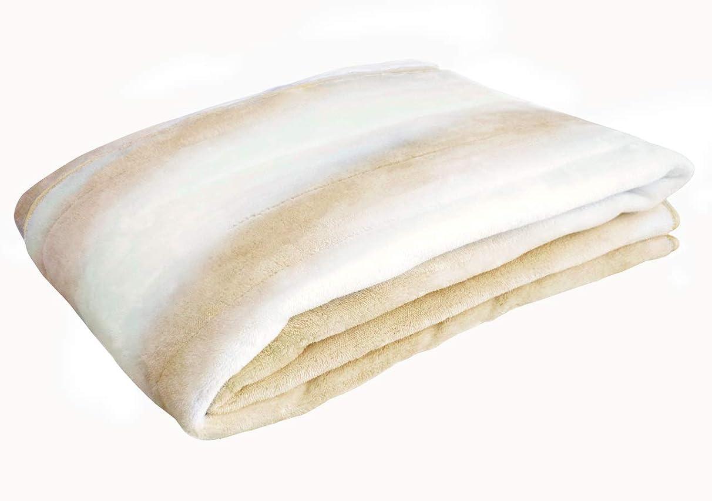 コンパス最大化する動敷きパッド フランネルオーロラ敷きパッド シングルサイズ 2色 (BE ベージュ) ふんわり あったか