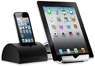 "Cooler Master Duo Stand/Dock ""R9-TPS-DUOS-GP, with Accessible Charging and Audio Ports for iPhone 4/4S/5/iPad 2/3/4/Mini"""