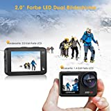 Zoom IMG-2 campark action cam 2 schermi