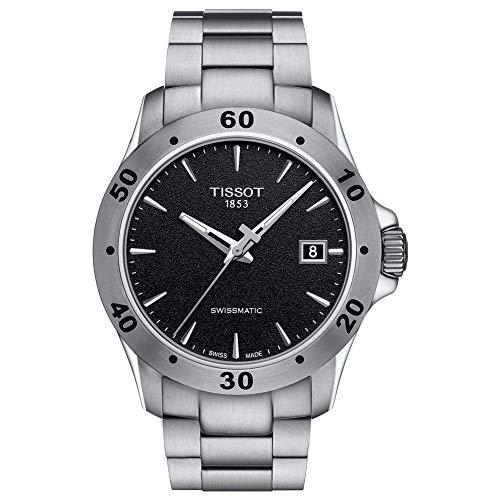 Tissot Herren-Uhren Analog Automatik One Size Edelstahl 87448011