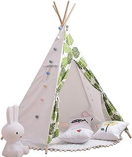 Jtoony tipi lektält för barn barn vikbar tipi lek tält hållbar baby småbarn tält för baby inomhus och utomhus lek lektält ...