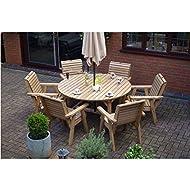 Wooden Garden Furniture Round Chairs