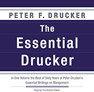 The Essential Drucker audiobook cover art