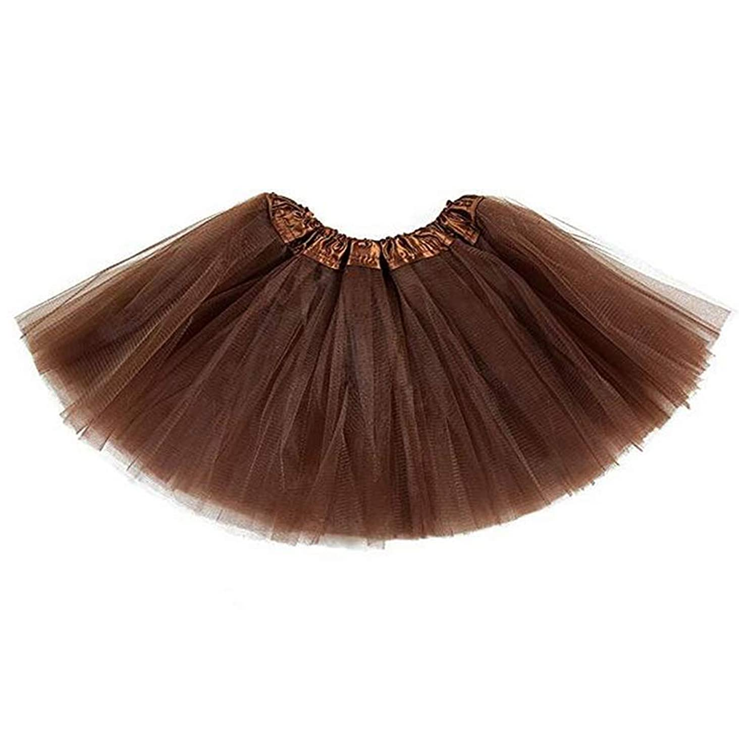 belababy Baby Girl Tutus for Toddlers 5 Layers Tulle Halloween Dress Up Skirt