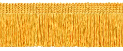 DecoPro 12,5Meter Value Pack 5cm Chainette Fransen Rand, Stil # CF02Farbe: Flagge Gold–FG (41Füße)