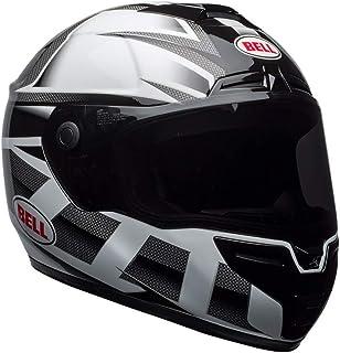 Capacete Bell Helmets Srt PVermelhoator Gloss Branco Preto 58