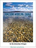 Functions Modeling Change: A Preparation for Calculus, 4th Editions
