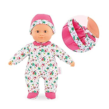 Corolle - Mon Premier Poupon Sweet Heart Tropicorolle - 12  Soft Body Baby Doll for Ages 9 Months & Up Multicolor