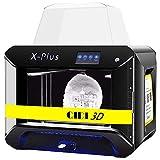 QIDI TECH 3D Printer, Large Size X-Plus Intelligent Industrial Grade 3D Printing with Nylon, Carbon Fiber, PC,High Precision Printing 10.6x7.9x7.9 Inch (Renewed)