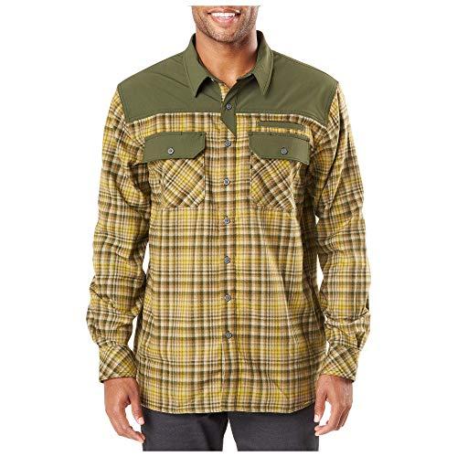 5.11 Tactical Men's Endeavor Long Sleeve Flannel Shirt,...