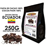 Cacao Venezuela Delta - Chocolate Negro Puro 100% · Origen Ecuador (Pasta, Masa, Licor De Cacao 100%) · 250g