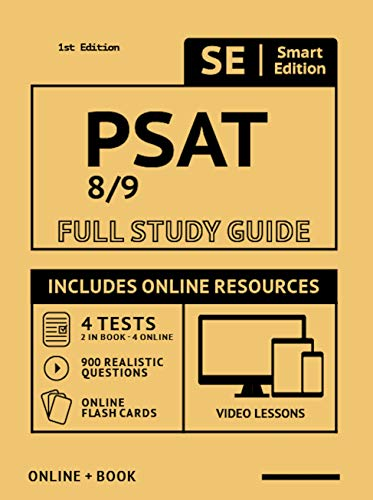 PSAT 8/9 Full Study Guide 2nd Edition: Complete Subject Review with Online...