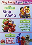 Sesame Street: Sing Along Triple Feature (Sing Along / Kids' Favorite Country Songs / Sesame Sings Karaoke)