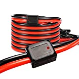 Jumper Cables Heavy Duty Booster Cables for Car Battery Jump Starter Dead or Weak Automotive Battery Jumper Cables 2 Gauge 20 Feet 1000Amp(2AWG x 20Ft)