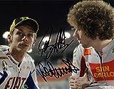Fotografia autografata di Valentino Rossi e Marco Simoncelli moto GP edizione limitata con autografo stampato certificato