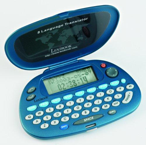 Lexibook NTL800 - Elektronischer Übersetzer mit 8 Sprachen, dunkelblau