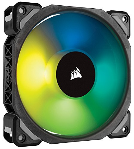 Corsair ML120 PRO 120mm Premium Magnetic Levitation RGB LED PWM Fan Single Pack (CO-9050075-WW)