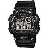 [カシオ] 腕時計 スタンダード W-735H-1AJF ブラック