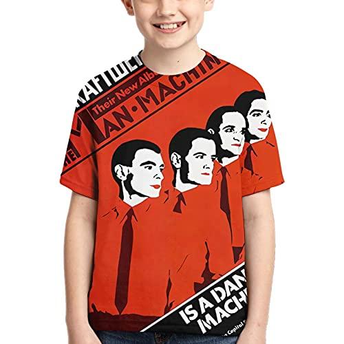 Kraftwerk Man Machine Sublimation T-shirt for Child, Small
