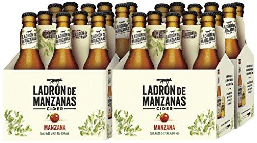 Apple Thief Cider - 4 6 Packs Bottles x 250 ml - Total: 6 L