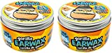 Moco de Gorila Wet Effect Gorilla Earwax | Hair Styling Putty Extreme Long-lasting Hold, Gorilla Earwax Wet Effect is Ultimate Hair Gel to bring the Wet look to any Hairstyle; 3.52 Ounce Jar (2 PACK)