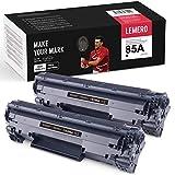 LEMERO Compatible Tóner para HP 85A CE285A para HP Laserjet Pro P1102 P1102W M1212NF M1214NFH MFP M1217NFW M1132 M1210 M1130 Impresora 2Negro