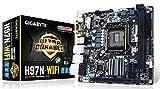 Gigabyte Ultra Durable GA-H97N-WIFI Desktop Motherboard, Intel H97 Express Chipset, Socket H3 LGA-1150