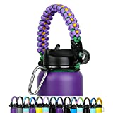 Paracord Handle - Fits Wide Mouth Bottles 12oz to 64oz...