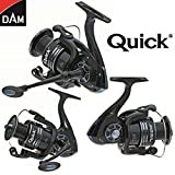 My-Fishing-World Dam Quick-Fighter Pro Metal Spinrolle/Stationärrolle/Angelrolle/inkl.schwarzes...