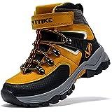 Scarpe da Escursionismo Stivali da Neve Scarpe da Trekking (H Giallo,40 EU)