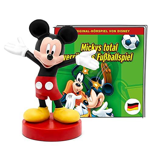 tonies Hörfiguren für Toniebox, Disney – Mickys total verrücktes Fußballspiel, Micky Maus Hörspiel für Kinder ab 4 Jahren, Spielzeit ca. 60 Minuten