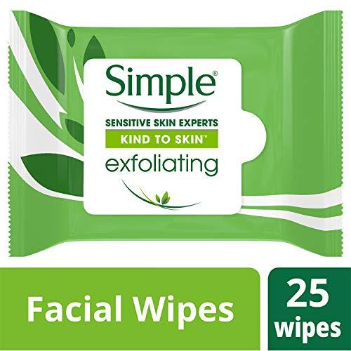 Simple Simples lingettes faciales 25 ct