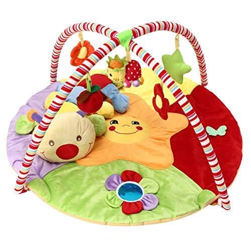 Tapete De Juego Para BebésEstera De Juego Musical Para Bebés Time Caterpillar Soft Toy Premium Baby Play MatEducativoGimnasios Para Bebés