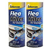 Enforcer Flea Killer for Carpets 20 Ounce EFKOB203 (Pack of 2) Ocean Breeze Fragrance