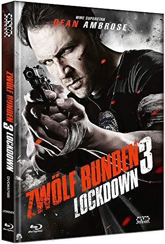 12 Runden 3: Lockdown [Blu-Ray+DVD] - uncut - limitiertes Mediabook Cover B