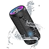 Portable Bluetooth Speaker with 20W Stereo Sound, Bassup, IPX7 Waterproof, 20-Hour Playtime, Wireless Stereo Pairing, Speaker for Home, Outdoors, Travel