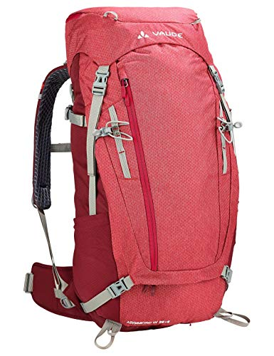 VAUDE Damen Rucksaecke40-49l Women's Asymmetric 38+8, indian red, one size, 124346140