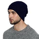 DonDon Gorro Hombre invierno Estilo flexible con interior forrado muy suave y cómodo -...