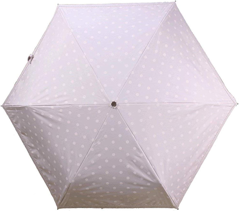 WHKFD Ombrello a Punto D'Onda Manuale Ombrello Ultra Leggero Ombrellone 30% Predezione Solare Ultrapurpleta