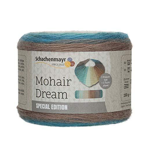 Schachenmayr 9807884-00083 Handstrickgarn, 84% Polyacryl, Wolle, 8% Mohair, ice, onesize
