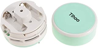 Prettyia Portable Cordless Mini Desktop Vacuum Cleaner Desk Dust Cleaner/Dust Sweeper for Home Office Keyboard - Green, as...