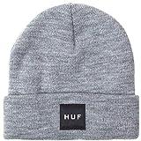 HUF Box Logo - Gorro para hombre gris Talla única